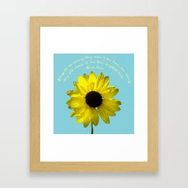 Brightest Lives Framed Art Print