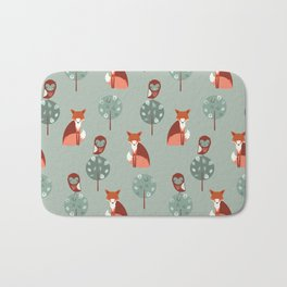 Fox Woods Bath Mat