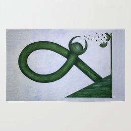 Interrupted Infinity Rug