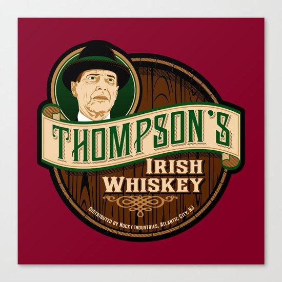 Thompson's Irish Whiskey Canvas Print