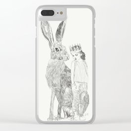 A Bigger World Clear iPhone Case