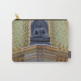 Buddha Statue at the Grand Palace Bangkok Carry-All Pouch