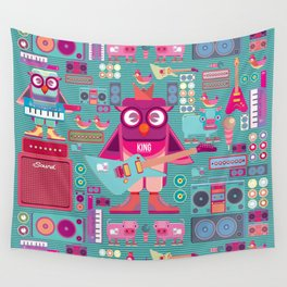 singpentinkhappy band II Wall Tapestry