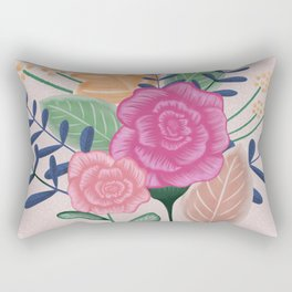 Flower bouquet Rectangular Pillow