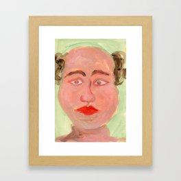 Xavier's relatives / uncle Framed Art Print