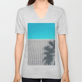 Parker Palm Springs with Palm Tree Shadow Unisex V-Neck