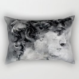 Watercolor David Michalengelo Rectangular Pillow