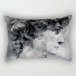 Watercolor David Michalengelo Rectangular Pillow