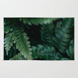 Dark Ferns Rug
