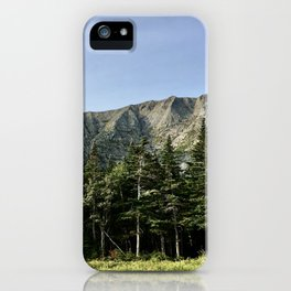 Mount Katahdin iPhone Case