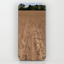 The brown vanishing point iPhone Skin