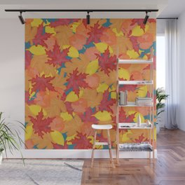 Bright Fall #society6 #fall Wall Mural