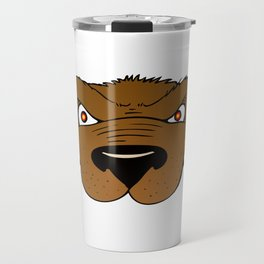 Attention Bear Travel Mug