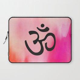 Om Ohm Symbol Laptop Sleeve