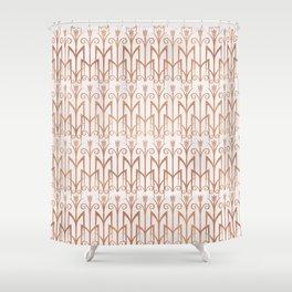 Art Deco Patterns Shower Curtain