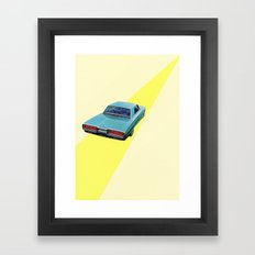 Open Road Framed Art Print