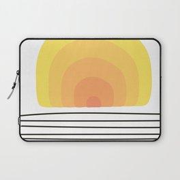 Vintage Sunset Laptop Sleeve