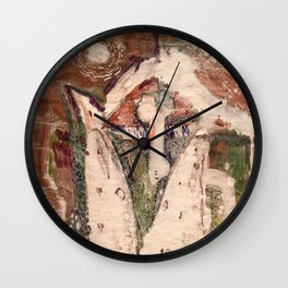 Composition Wall Clock