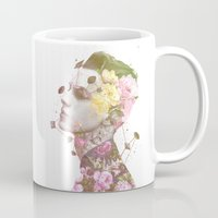 charlie Mugs featuring Charlie by Krister Selin