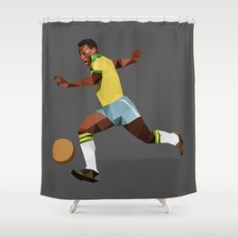 Peléee Shower Curtain