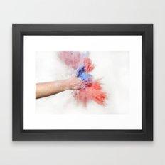 Powder Framed Art Print