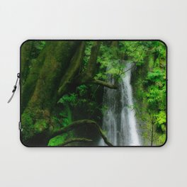 Waterfall in Azores islands Laptop Sleeve