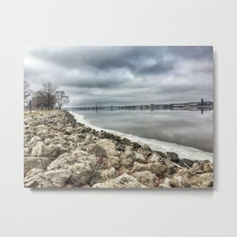Mississippi River - Illinois Metal Print