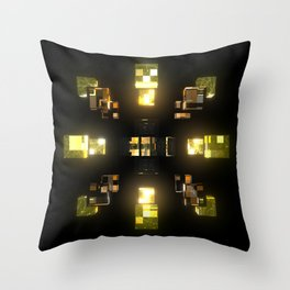 My Cubed Mind: Frame 100 Throw Pillow
