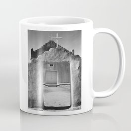 Ansel Adams - Taos Pueblo Church Coffee Mug