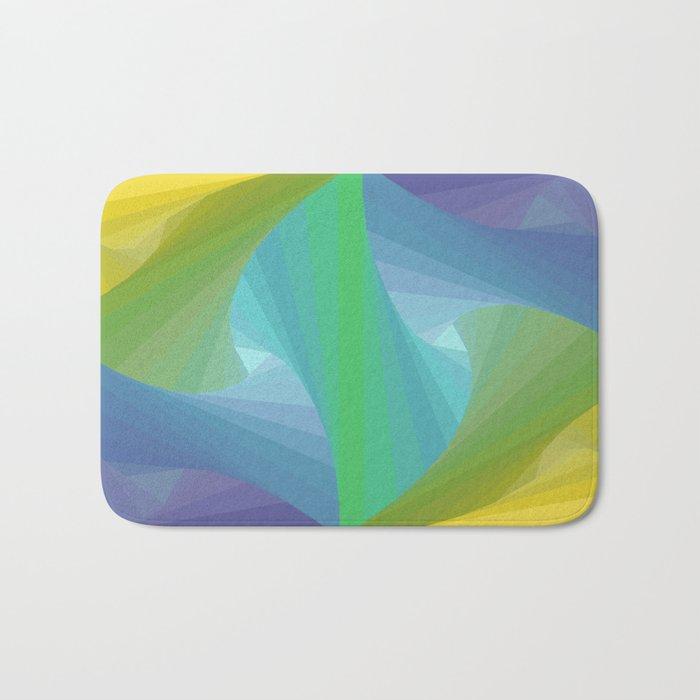 Geometric Voids Bath Mat