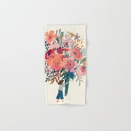 Floral bouquet Hand & Bath Towel