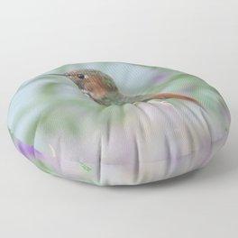 Allen's Hummingbird Sentinel Floor Pillow