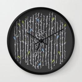 Treebird Wall Clock