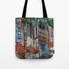 Old Colonial Building Tote Bag