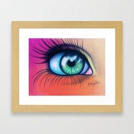 Kaleidoscopic Vision Framed Art Print