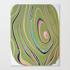 napkin gender/pink green Canvas Print
