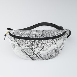 Manila City Map of Philippines Fanny Pack