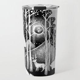 THE OWL AND THE DEER Travel Mug