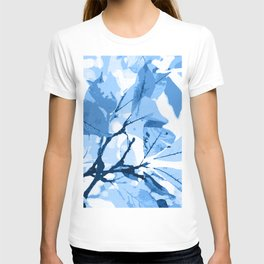 Autumn colors, leaves #effect 3 T-shirt