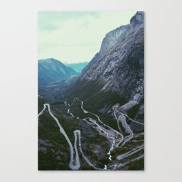 Trollstigen, Norway Canvas Print
