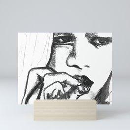 Cool Girls In The Schoolyard Mini Art Print