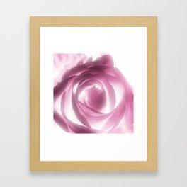 Rose Xray Framed Art Print