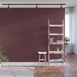 Tawny Port | Pantone Fashion Color Fall : Winter 2017 | Solid Color Wall Mural
