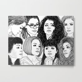 Orphan Black: Graeme's S5 Wrap Commission Metal Print