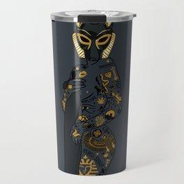 Late Night Egyptian Tales Ep. 1: Anubis Travel Mug