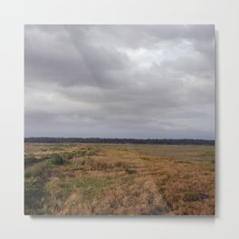 Clouds on the Prairie Metal Print