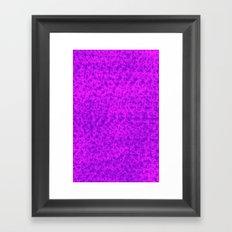 Wild pink Framed Art Print