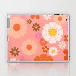 Groovy 60's Mod Flower Power Laptop & iPad Skin