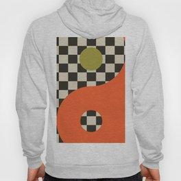 Modern Retro Geometric Zen Yin Yang  VI Hoody