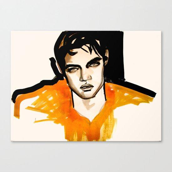 Intense Orange Canvas Print